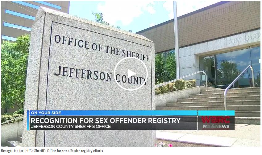 Jefferson County Sheriffs Office offenderwatch news