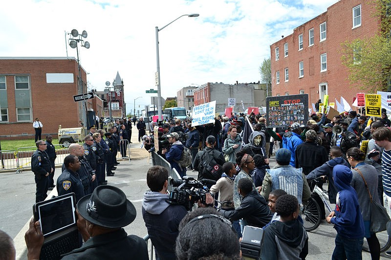 How Baltimore PD Ran a Mobile Field Registry  During the 2015 Riots